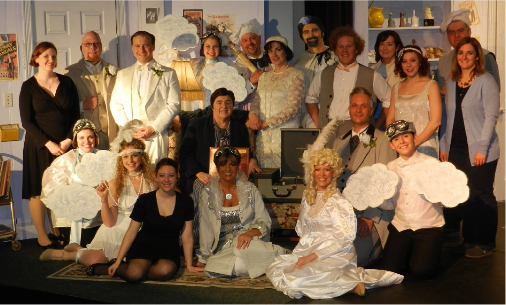 The cast and crew of THE DROWSY CHAPERONE